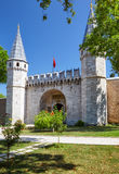 Topkapi Palace, Gate of Salutation, Istanbul Stock Photography
