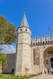 Topkapi Palace The Gate of Salutation, Istanbul Stock Photo
