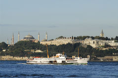Topkapi palace and hagia sophia Royalty Free Stock Images