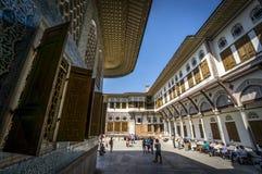 Topkapi Palace. Inner yard in Istanbul, Turkey Royalty Free Stock Photos