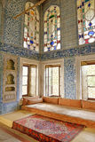 Topkapi Palace Interior, Istanbul, Turkey Stock Photography
