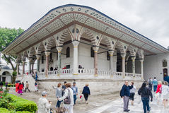 Topkapi Palace Istanbul Royalty Free Stock Photography