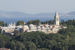 Topkapi Palace in Istanbul City Royalty Free Stock Image