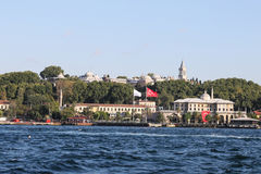 Topkapi Palace in Istanbul City Stock Images