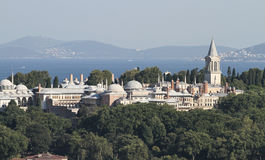 Topkapi Palace in Istanbul City Royalty Free Stock Images