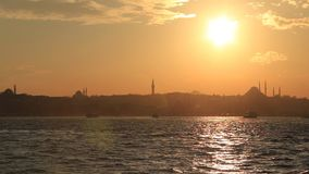 Topkapi palace in Istanbul stock footage