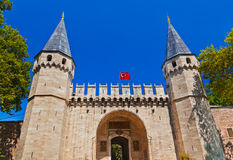 Topkapi Palace at Istanbul Turkey Stock Images