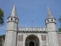 Topkapi palace in Istanbul. Turkey stock photography