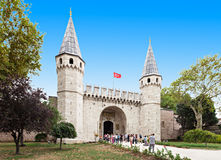 Topkapi palace, Istanbul Royalty Free Stock Images