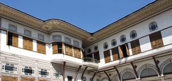 Topkapi palace in Istanbul, Turkey Royalty Free Stock Images