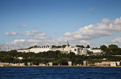 Topkapi Palace in Istanbul. A view from Topkapi Palace in Istanbul Stock Photo