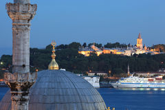 Topkapi Palace and Mosque Royalty Free Stock Photography