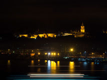 The Topkapi Palace at Night Royalty Free Stock Image