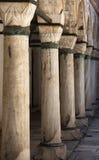 Topkapi palace pillars Royalty Free Stock Photography