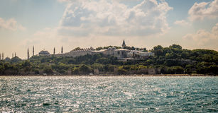 Topkapi palace, retro style photography Royalty Free Stock Images