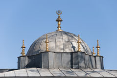 Topkapi Palace Roof Elements Stock Photos