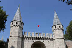 Topkapi Palace Tower Stock Images
