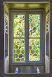 Topkapi palace window Royalty Free Stock Image