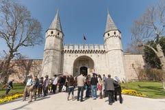 Topkapi Palast, Istanbul, die Türkei Stockfotos