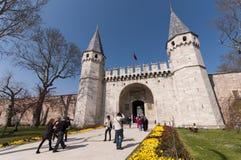 Topkapi Palast, Istanbul, die Türkei Lizenzfreies Stockbild
