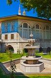 Topkapi Palast in Istanbul die Türkei stockfotos