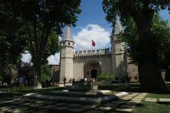 Topkapi-Palast-Museum in Istanbul - das Tor des Grußes ist der Haupteingang Stockfoto