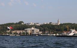 Topkapi-Palast in Sultanahmet, Istanbul Stockbild