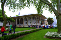 Topkapi slottkomplex Fotografering för Bildbyråer