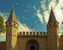 Topkapipaleis, Istanboel Turkije Royalty-vrije Stock Afbeeldingen