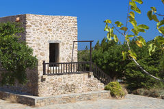 Toplou monastery at Crete island, Greece Stock Image