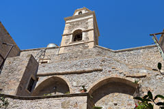 Toplou monastery at Crete island in Greece Stock Images