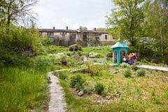 Toplovsky圣洁Paraskeevsky女修道院 免版税库存照片