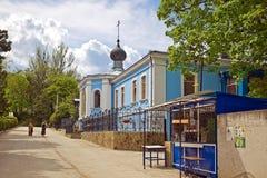Toplovsky圣洁Paraskeevsky女修道院 免版税库存图片
