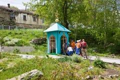 Toplovsky圣洁Paraskeevsky女修道院 库存图片