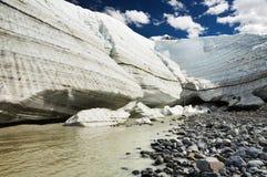 topnienie lodowca Obrazy Stock