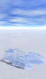 topnienie lodu Zdjęcia Stock