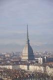 Topo Antonelliana de Turín Fotografía de archivo libre de regalías