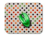 Topo del computer e stuoia del topo Fotografia Stock