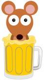Topo della birra Immagine Stock