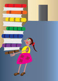 Topo di biblioteca 1 Immagini Stock Libere da Diritti