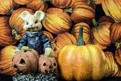 Topo di Halloween Fotografie Stock Libere da Diritti