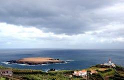 Topo weinig eiland (Sao Jorge, de Azoren - Portugal) Stock Fotografie