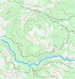 Topografische Kaart Royalty-vrije Stock Afbeelding