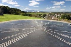 Topograph chez Dundonald Image stock