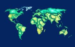 topographic översikt royaltyfri illustrationer