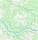 Topographic Map Royalty Free Stock Image