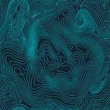 Topographic map background concept with space for your copy. Topography lines art contour , mountain hiking trail. Topographic map background concept with space Stock Photo
