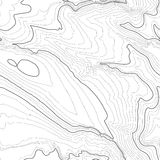 Topographic map background concept with space for your copy. Topography lines art contour , mountain hiking trail. Topographic map background concept with space Stock Photography