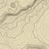 Topographic map background concept with space for your copy. Topography lines art contour , mountain hiking trail. Topographic map background concept with space Stock Images