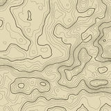 Topographic map background concept with space for your copy. Topography lines art contour , mountain hiking trail. Topographic map background concept with space Stock Image